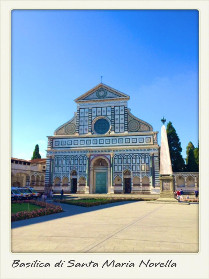 Postcard from Florence: Santa Maria Novella